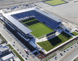 EARTHQUAKES STADIUM FIELD