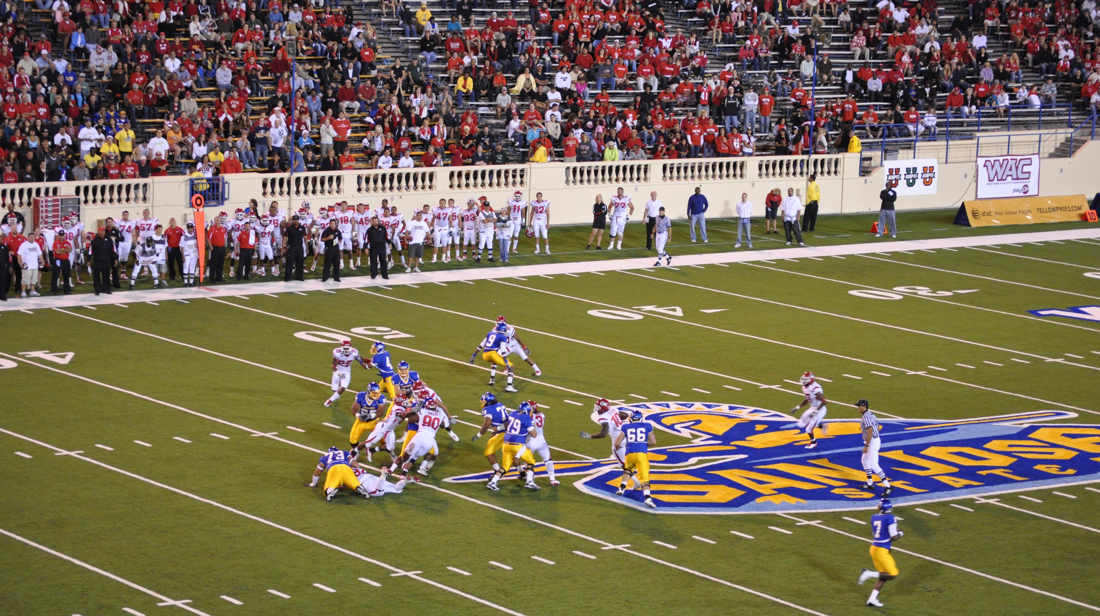 SJSU Spartan Stadium Opening Game 9-2009